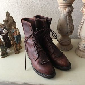 Women's Durango Vibram Lace Up Boots